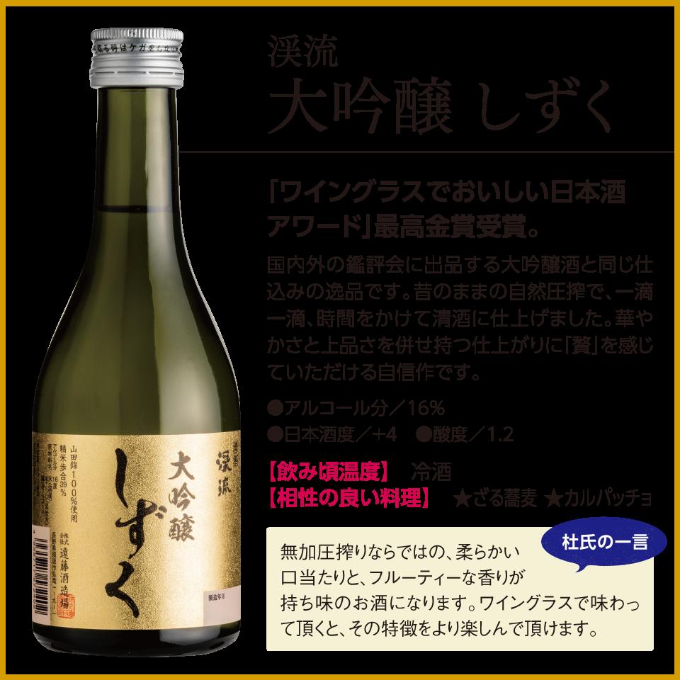 ワイングラスでおいしい日本酒