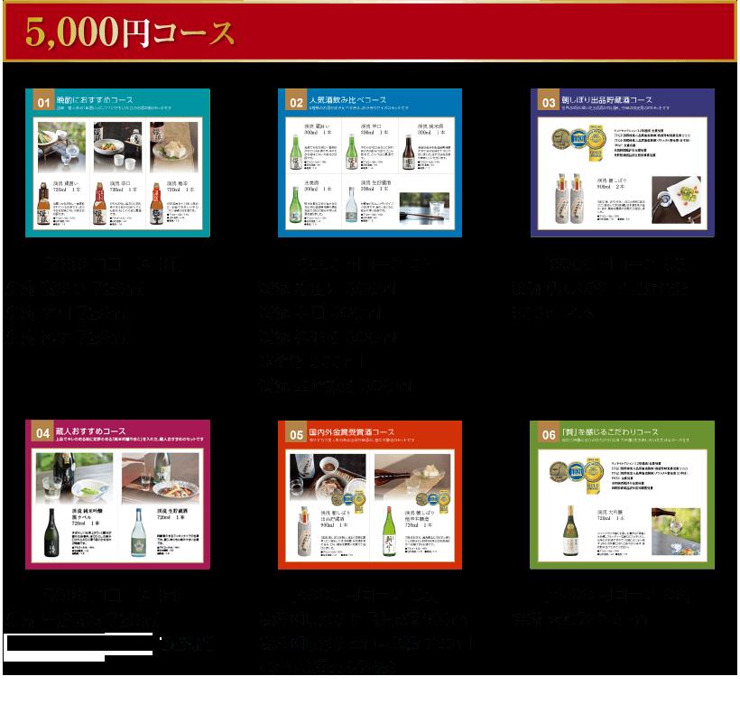 カタログギフト5000円